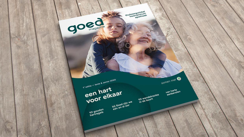 ontdek ons Goed magazine