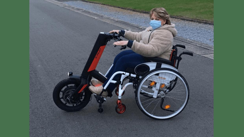 vergroot je mobiliteit met een aankoppelwiel of hulpmotor