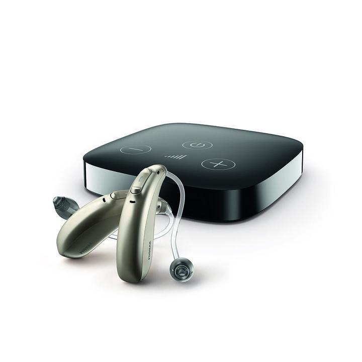 Phonak TV Connector, voor directe streaming vanaf elke tv of entertainmentsysteem