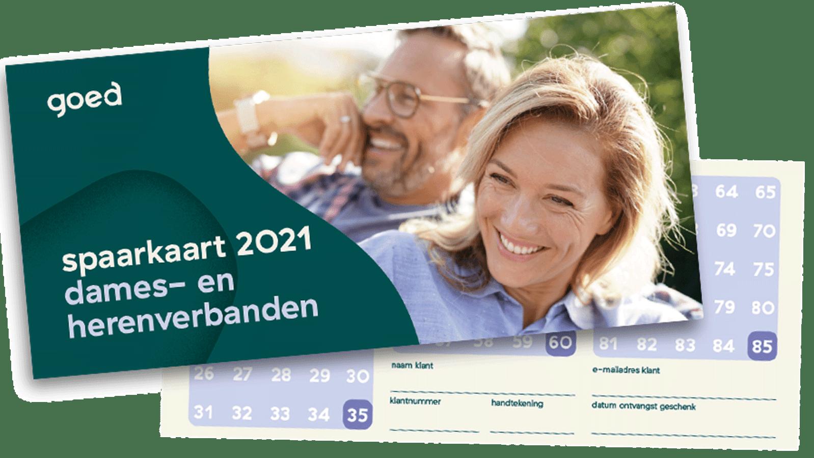 spaarkaart incontinentiemateriaal 2021